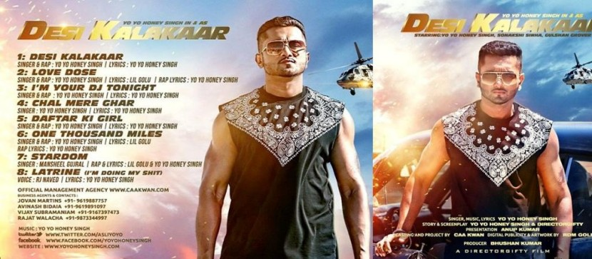 DESI KALAKAAR(Album) Lyrics -Yo Yo Honey Singh(2014